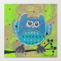 One For The Owl Canvas Print