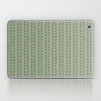 Into the Woods Leaves green Laptop & iPad Skin