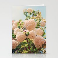 Puffy flowers! Stationery Cards