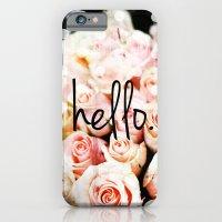 Hello Roses iPhone 6 Slim Case