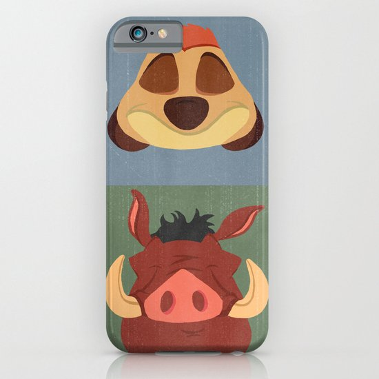Timon and Pumbaa iPhone & iPod Case