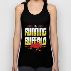 The Running Buffalo Unisex Tank Top