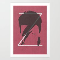 Z Is For Ziggy Art Print