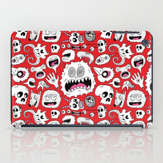 Another Monster Pattern iPad Case