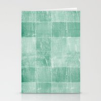Mint Squares Stationery Cards