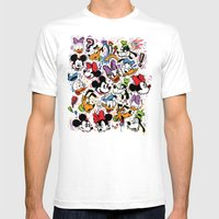 Emotion Explosion Mens Fitted Tee White SMALL