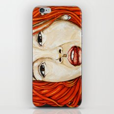 Not only barefooted iPhone & iPod Skin