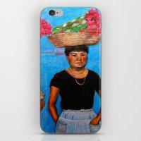 Selling Flowers iPhone & iPod Skin