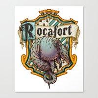 HP Rocafort House Crest Canvas Print