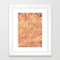 VICTORIAN SUNSET Framed Art Print