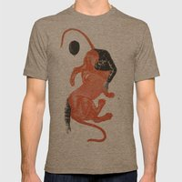 To The Beasts Mens Fitted Tee Tri-Coffee SMALL