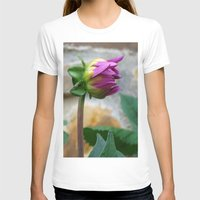 Flor Womens Fitted Tee White SMALL