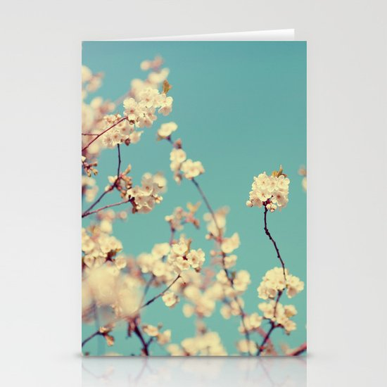 Not A Cloud In The Sky Stationery Card