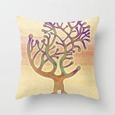 Potombo tree Throw Pillow
