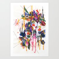 I spy my little eye, something begining with...  Art Print