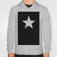 Black White Grunge Star … Hoody