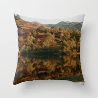 Rydal Water Throw Pillow