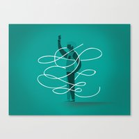 Composition 3 Canvas Print