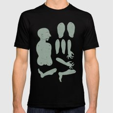puppet SMALL Black Mens Fitted Tee