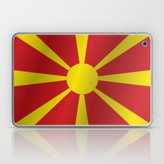 Flag of Macedonia Laptop & iPad Skin