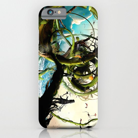 Oz (surreal version of the wizard of Oz) iPhone & iPod Case