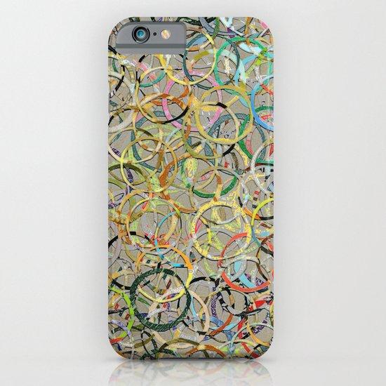 Rainbow Circles Collage iPhone & iPod Case