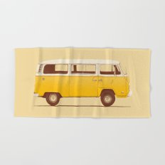 Yellow Van Hand & Bath Towel