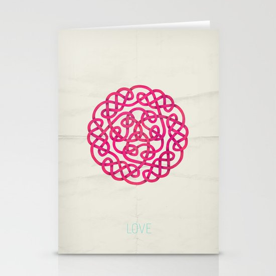 Love poster Stationery Card