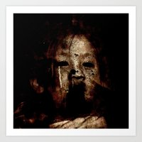 Born in a Burial Gown Art Print