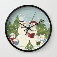 Christmas Song Wall Clock
