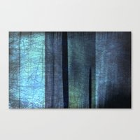 blue abstract Canvas Print