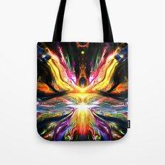 Black Imagination Activated Tote Bag