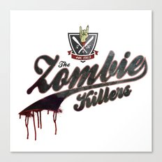 The Zombie Killers Canvas Print