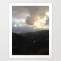 Outside Twin Peaks 2 Art Print