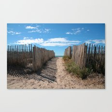 Way to the beach 2169 Canvas Print