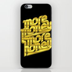 More Money, More Honey iPhone & iPod Skin