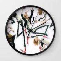 Dancing Dudes Wall Clock