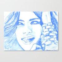 Hielo y Sal Canvas Print