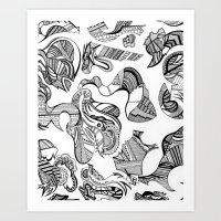 MexicandatewithMargaritas Art Print