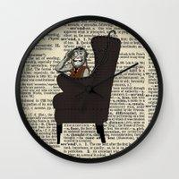 Detective Monkey Wall Clock