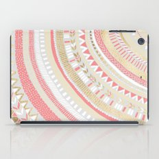 Coral + Gold Tribal iPad Case