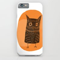 iPhone Cases featuring This is my owl by Matt Edward