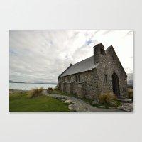 Lake Tekapo Church Canvas Print