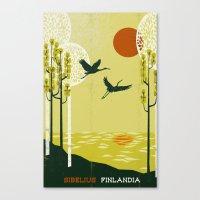 Finlandia - Sibelius Canvas Print