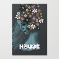 House (Hausu) Movie Post… Canvas Print