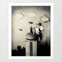 Storm Kong (Those Are No… Art Print