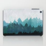 iPad Case featuring Woods Abstract  by Mareike Böhmer Grap…