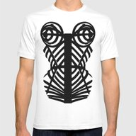 Madonna Corset #MDNA TOU… Mens Fitted Tee White SMALL