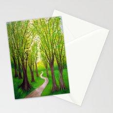 Summer landscape Stationery Cards