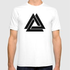 Delta Infinity (Inverted) Mens Fitted Tee White SMALL
